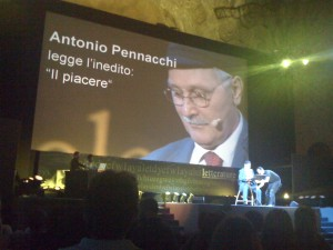 Il premio Strega ad Antonio Pennacchi